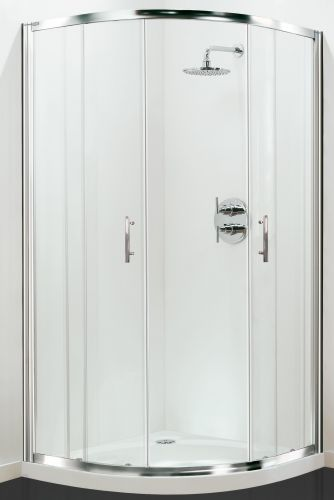 Petite Style Plus 1700mm x 800mm Quadrant Shower Door