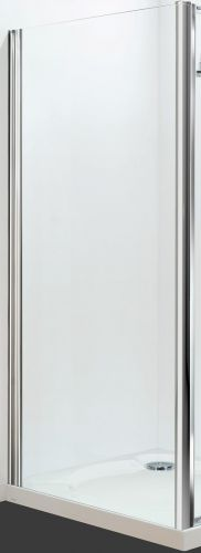 Petite Style Plus 1600mm x 900mm Silver Finish Side Panel